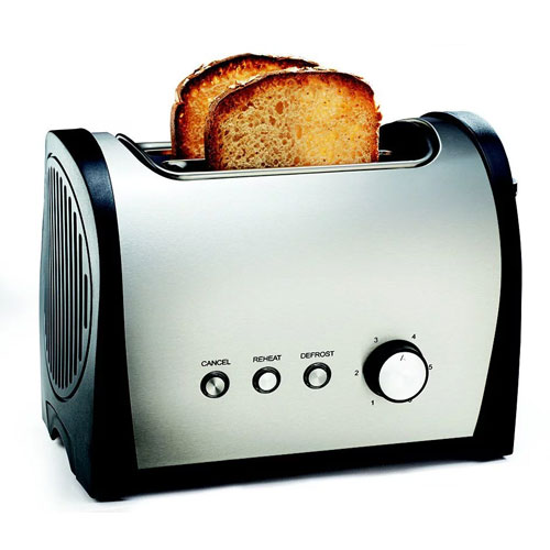 image of a toaster