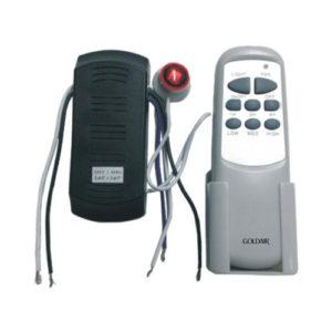 image of a fan remote